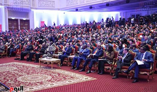 رئيس الوزراء يفتتح فعاليات المعرض الأفريقى الأول للتجارة البينية (15)