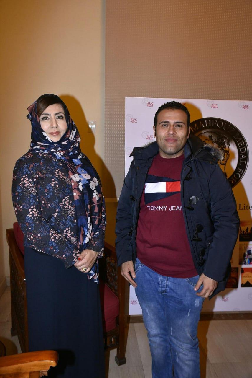 محرر اليوم السابع مع الكاتبة السعودية أميمة الخميس (3)