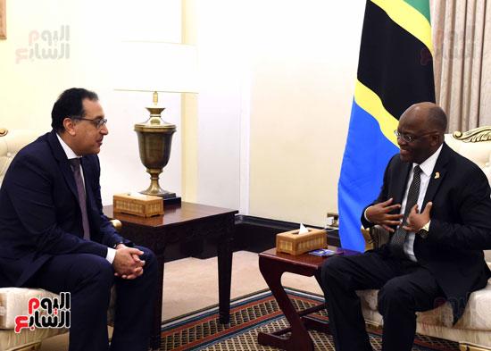زيارة مصطفى مدبولى لتنزانيا (4)