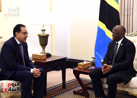 زيارة مصطفى مدبولى لتنزانيا (5)