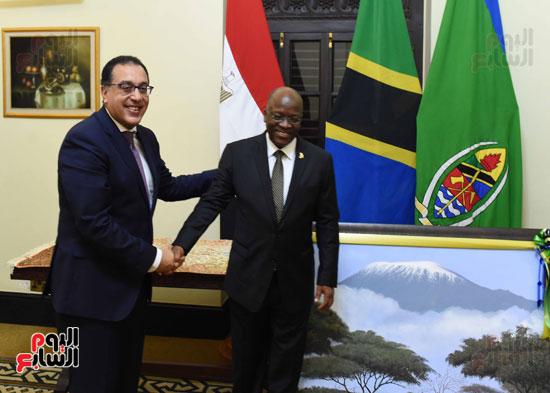 زيارة مصطفى مدبولى لتنزانيا (3)