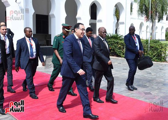 زيارة مصطفى مدبولى لتنزانيا (7)