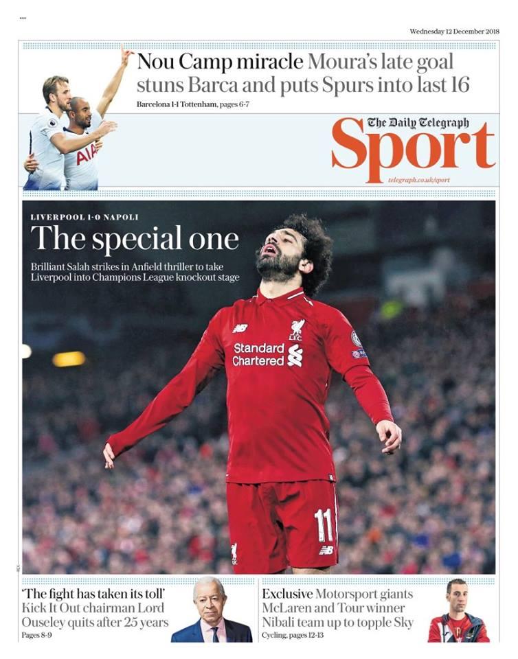 Telegraph - Mohamed Salah