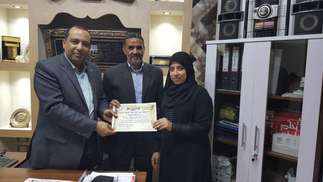 تكريم حملة 100 مليون صحة بشبرا الخيمة (1)