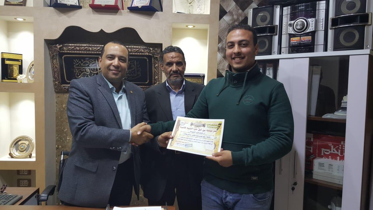 تكريم حملة 100 مليون صحة بشبرا الخيمة (3)