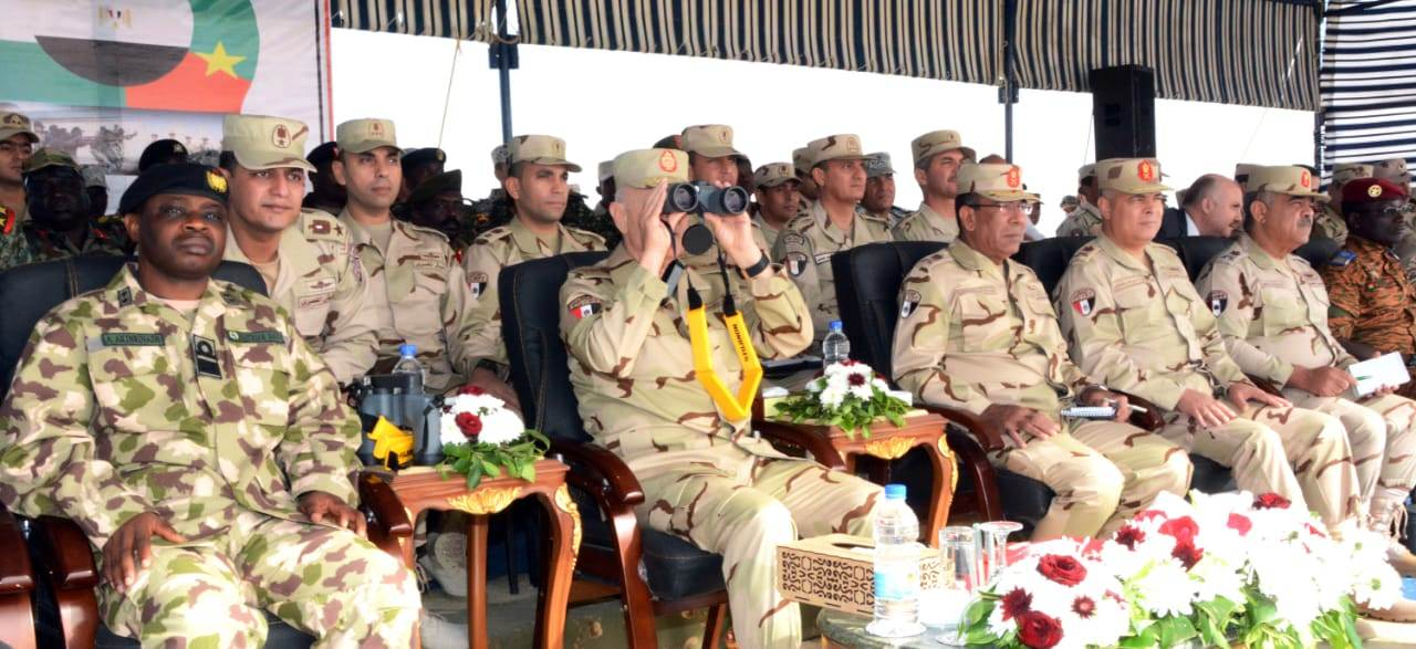 الفريق محمد فريد يشهد المرحلة الرئيسية لتدريب دول الساحل والصحراء (4)