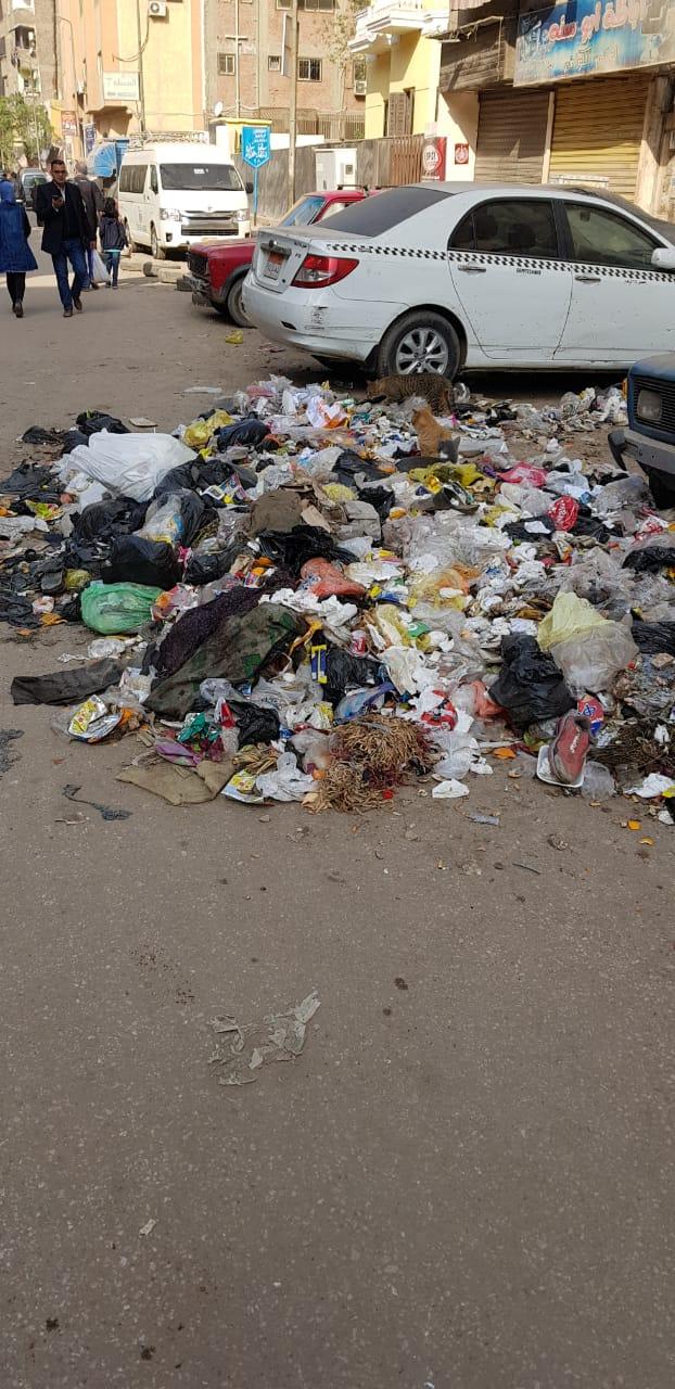 القمامة فى منطقة أثرية بميدان المسلة القديم فى المطرية (5)