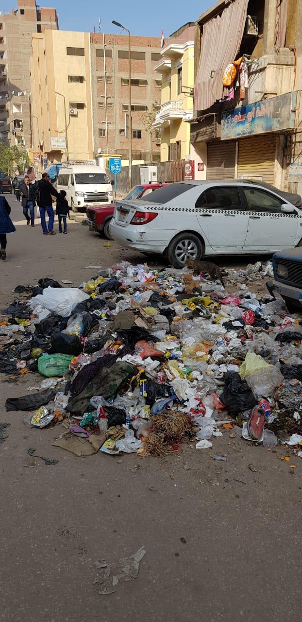 القمامة فى منطقة أثرية بميدان المسلة القديم فى المطرية (2)