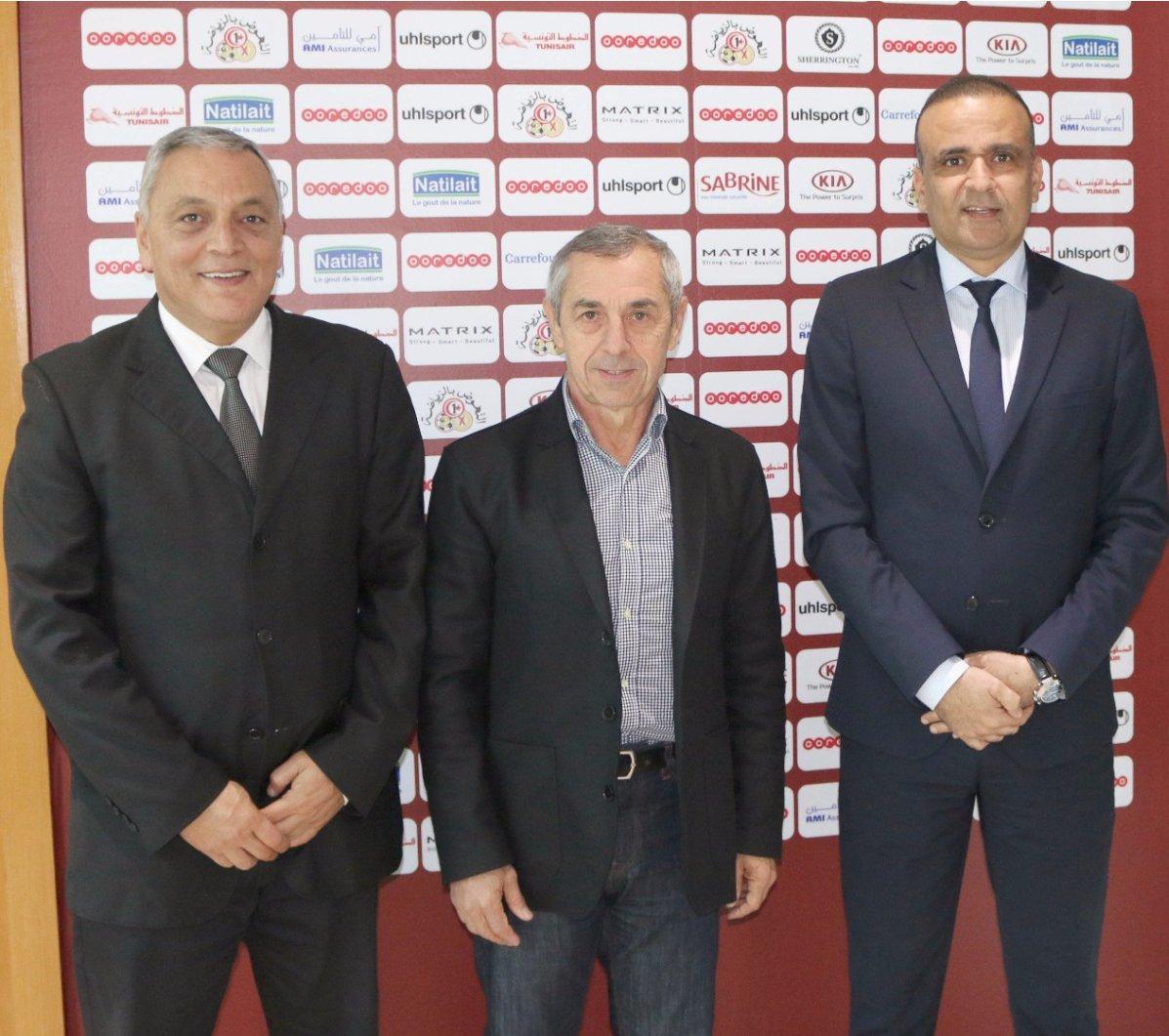 الان جيريس مدرب منتخب تونس