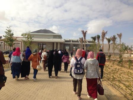 الفوج العاشر من شباب جامعة الفيوم (2)