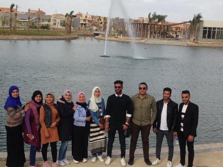 الفوج العاشر من شباب جامعة الفيوم (3)