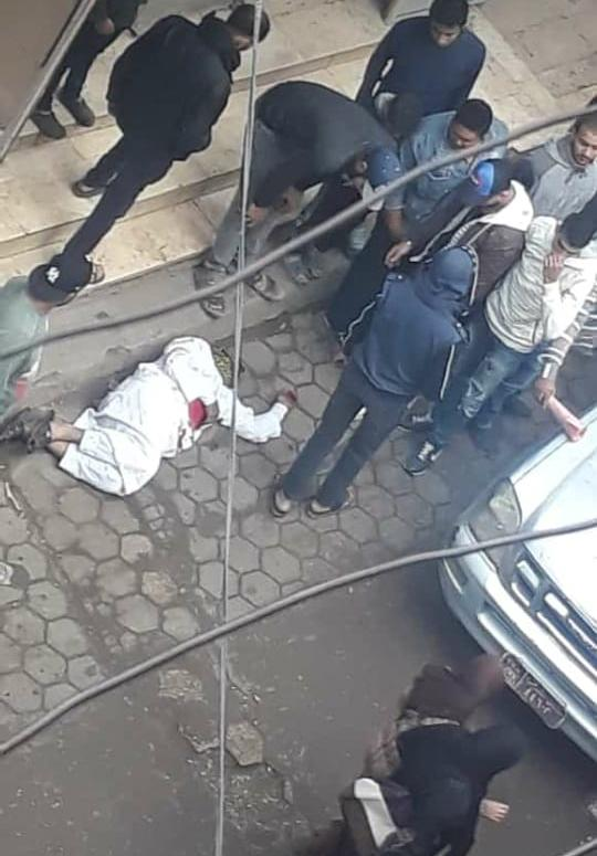 صورة للمتهم بالشروع في قتل زوجته بالبساتين ومحاولة الانتحار  (2)