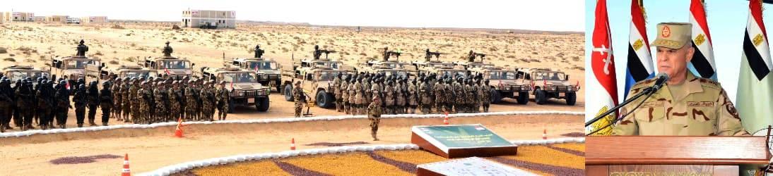 الفريق محمد فريد يشهد المرحلة الرئيسية لتدريب دول الساحل والصحراء (3)