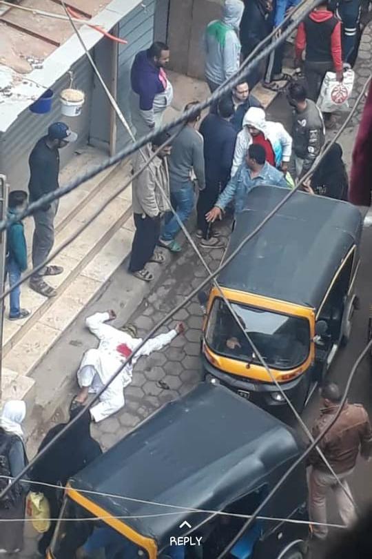 صورة للمتهم بالشروع في قتل زوجته بالبساتين ومحاولة الانتحار  (1)
