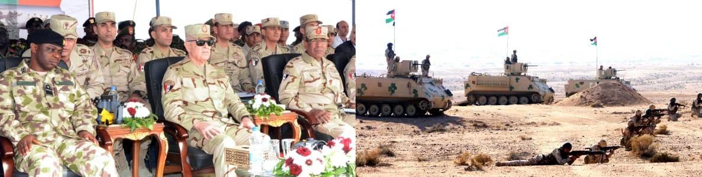 الفريق محمد فريد يشهد المرحلة الرئيسية لتدريب دول الساحل والصحراء (2)