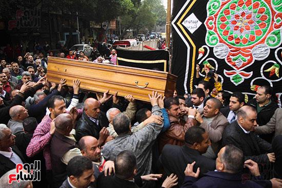 جنازة الراحل إبراهيم سعدة (31)