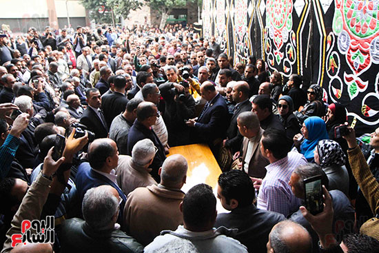 جنازة الراحل إبراهيم سعدة (36)