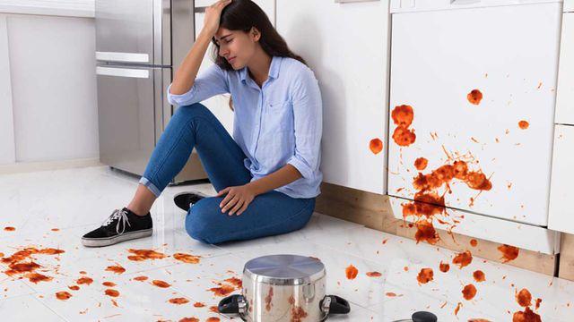 الخوف من المطبخ