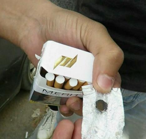 ضبط مواد مخدرة