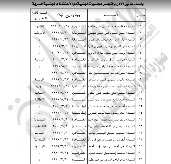 الجريدة الرسمية تنشر قرارات وزير الداخلية بالأسعار الجديدة