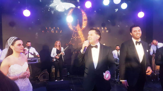 حفل زفاف كريمة هشام رامز (5)