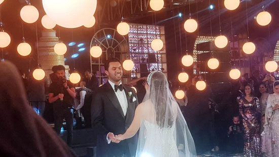 حفل زفاف كريمة هشام رامز (9)