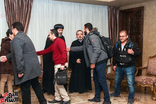 لقاء مع مجموعة من صحفيى الملف القبطى (2)