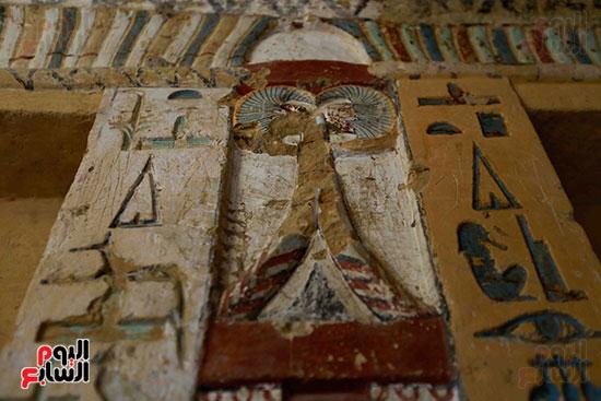 اكتشاف مقبرة بالهرم (36)