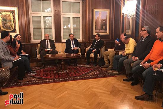سفير مصر بالنمسا (2)