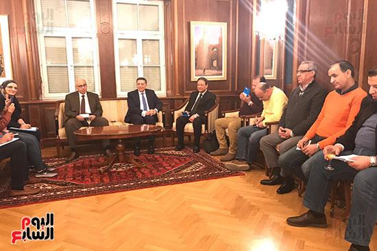 سفير مصر بالنمسا (1)