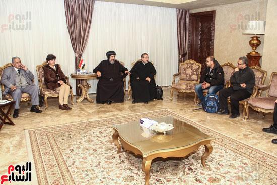 لقاء مع مجموعة من صحفيى الملف القبطى (3)