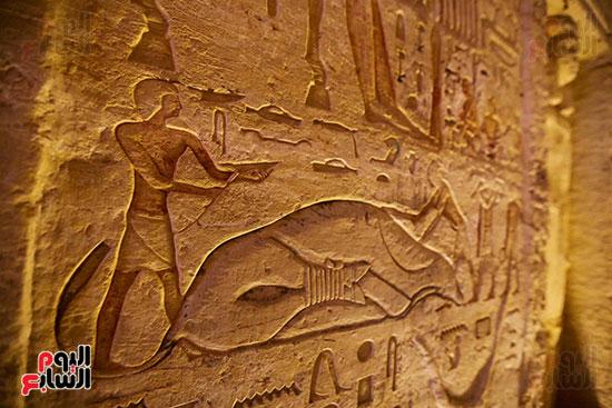 اكتشاف مقبرة بالهرم (27)