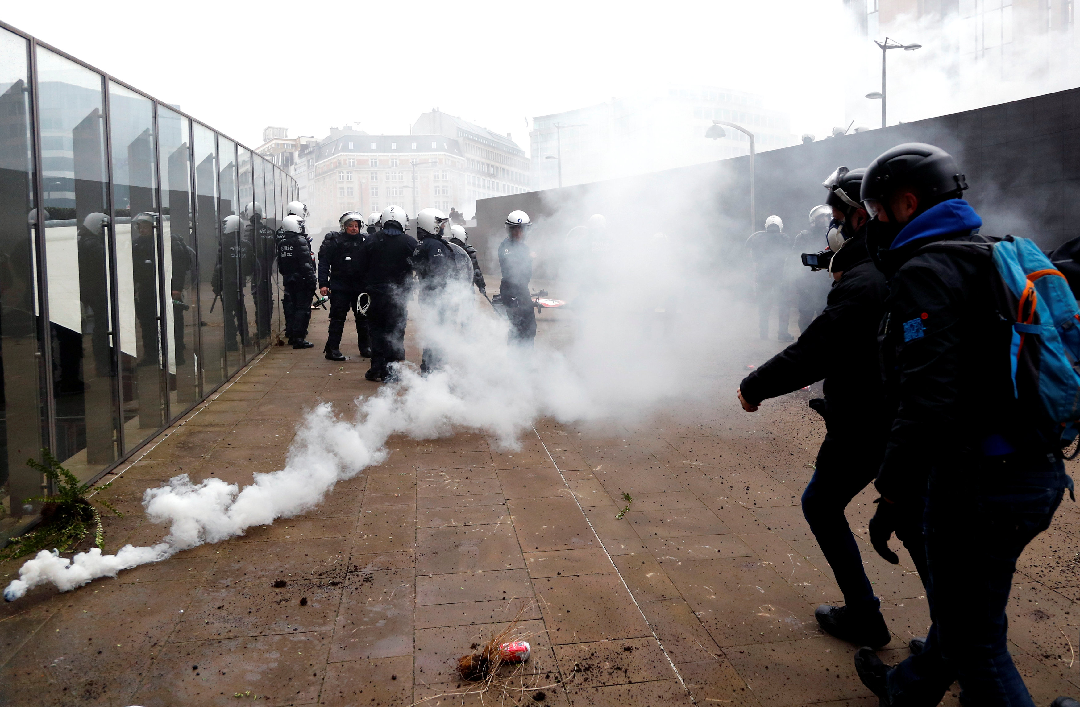 مظاهرات بروكسل (8)