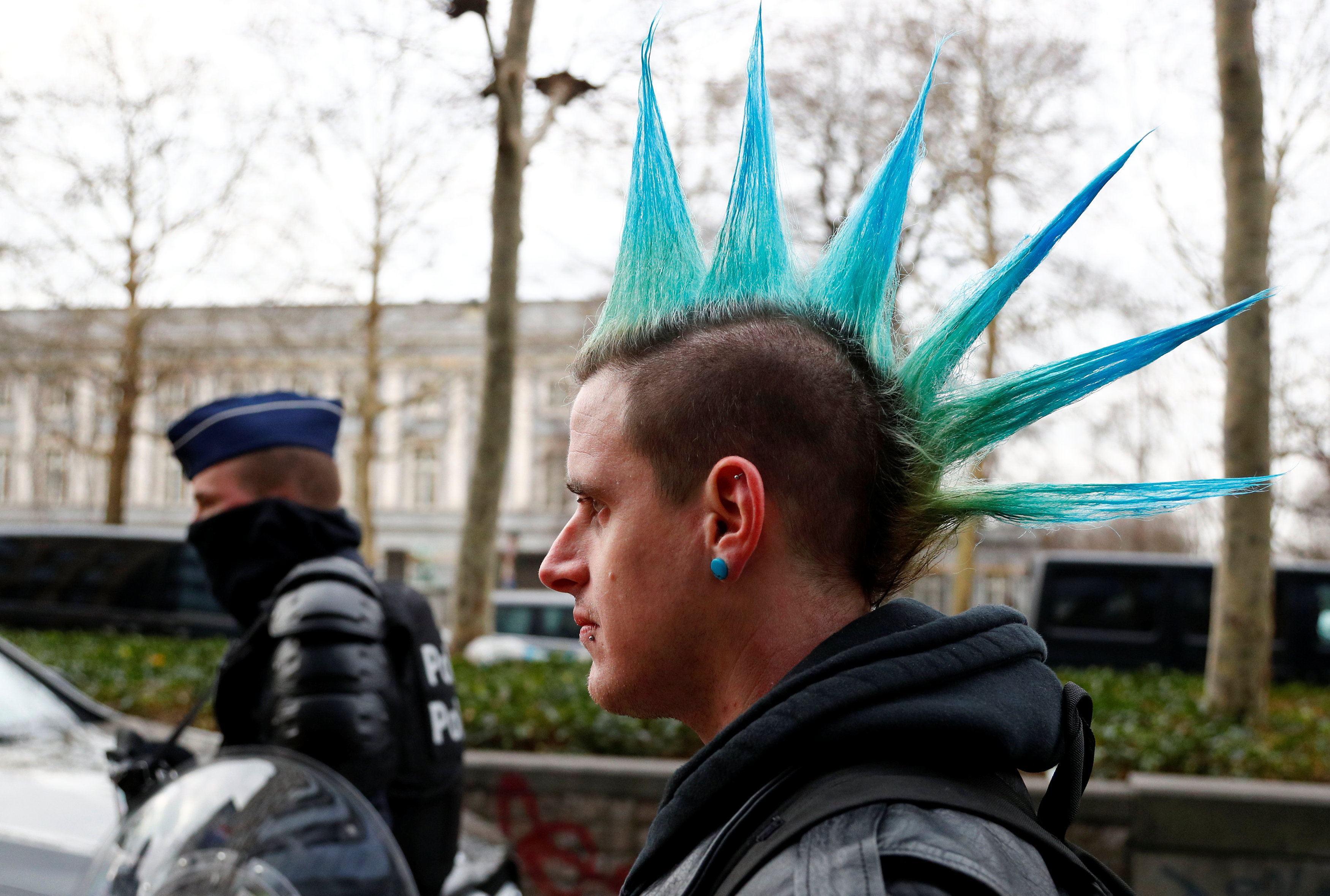 مظاهرات بروكسل (13)