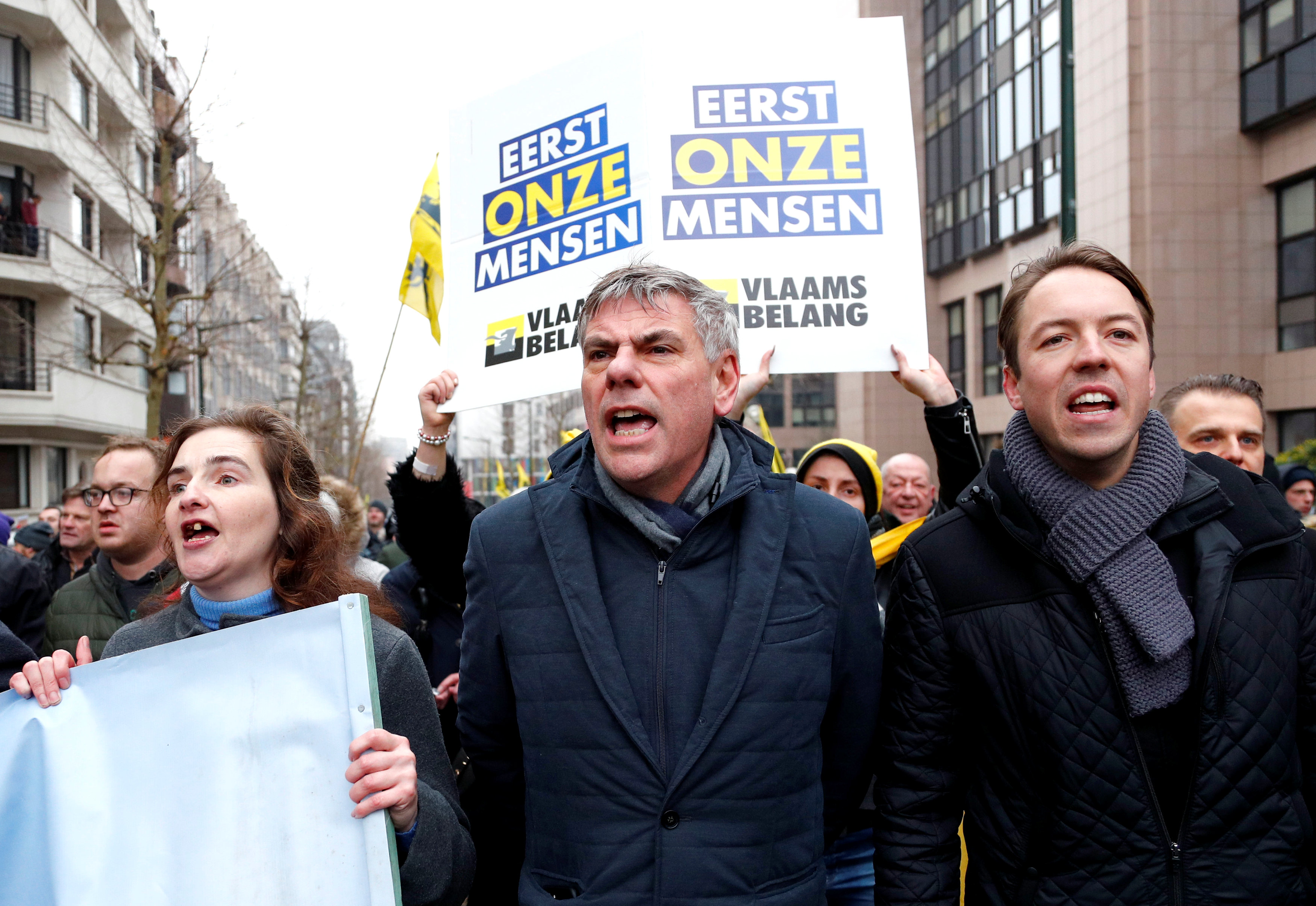 مظاهرات بروكسل (15)