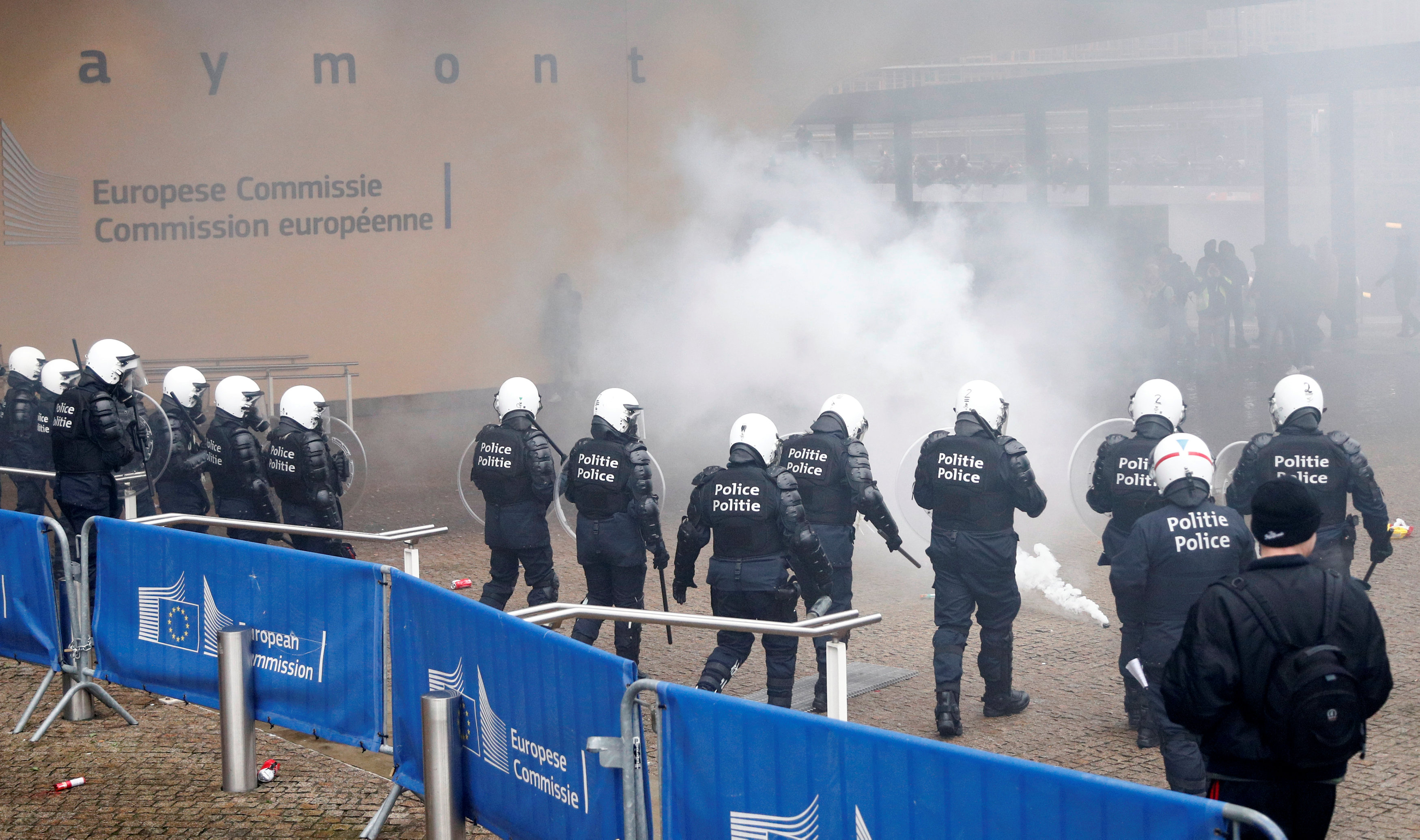 مظاهرات بروكسل (3)