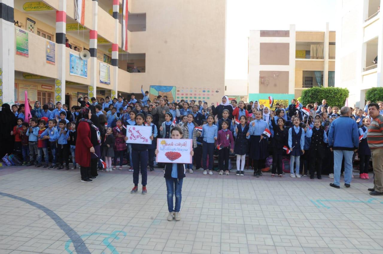 الطلاب فى سيناء