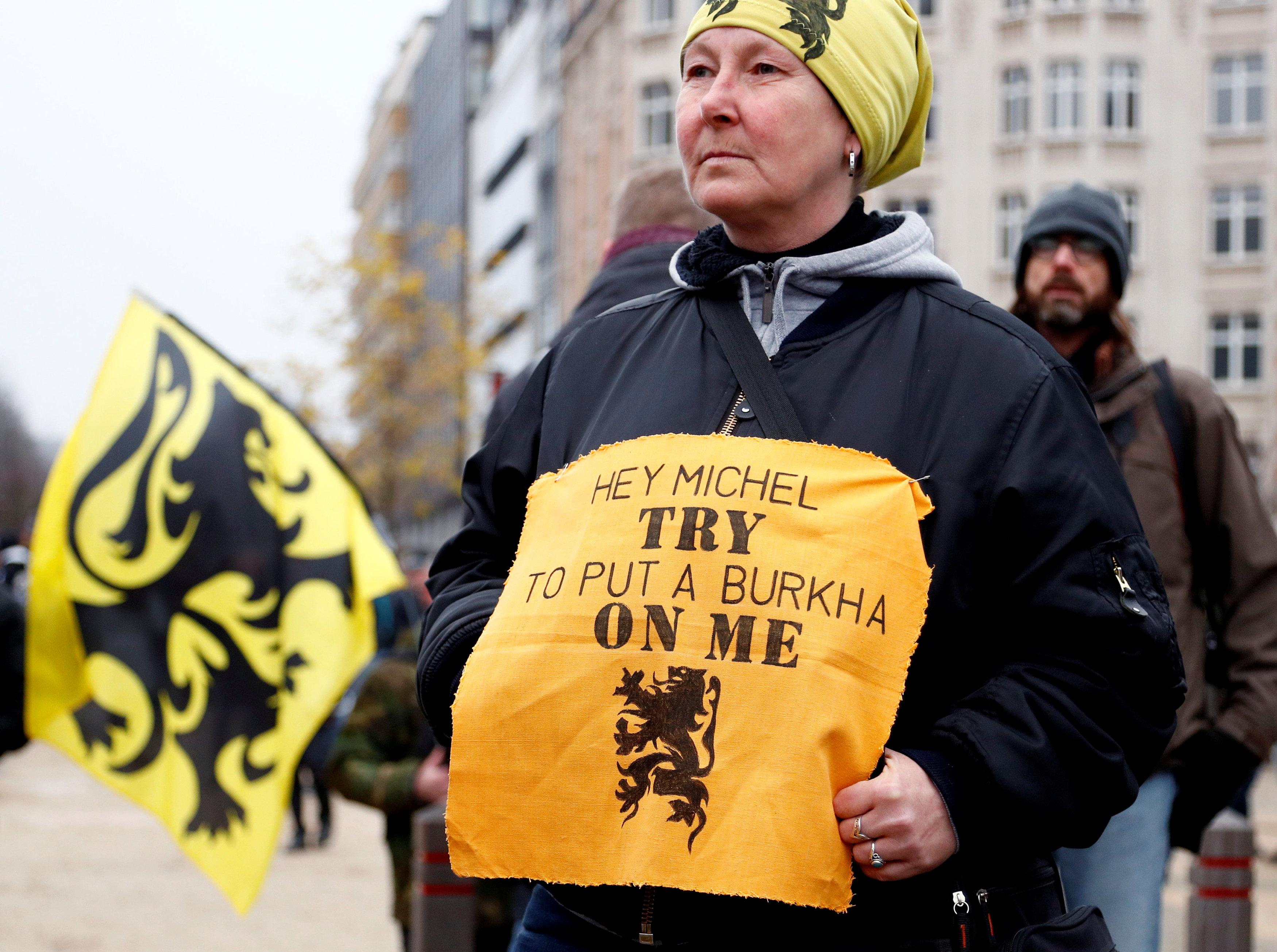 مظاهرات بروكسل (14)