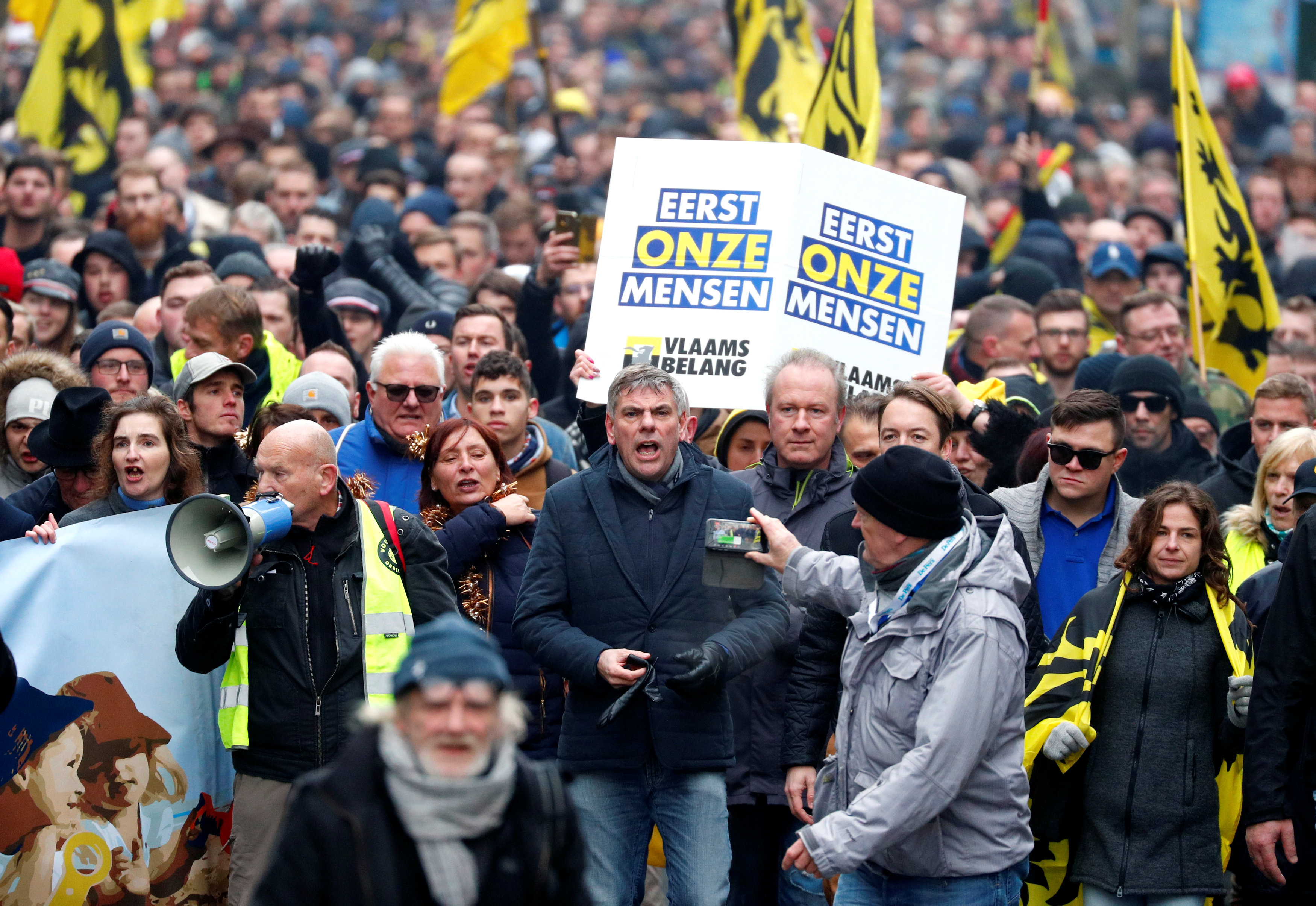 مظاهرات بروكسل (17)