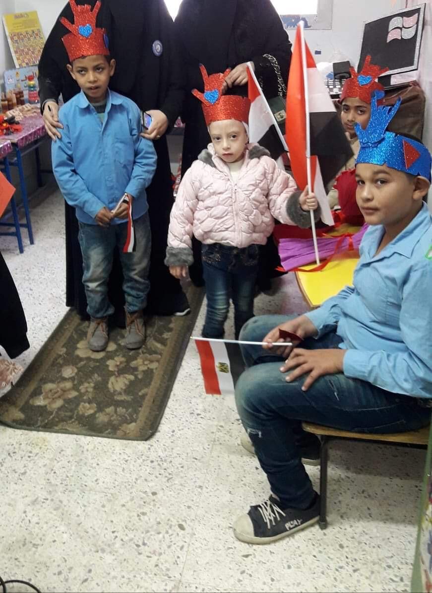 مبادرة مدرسة أبى خليفة لدمج الطلاب ذوى الاحتياجات (1)
