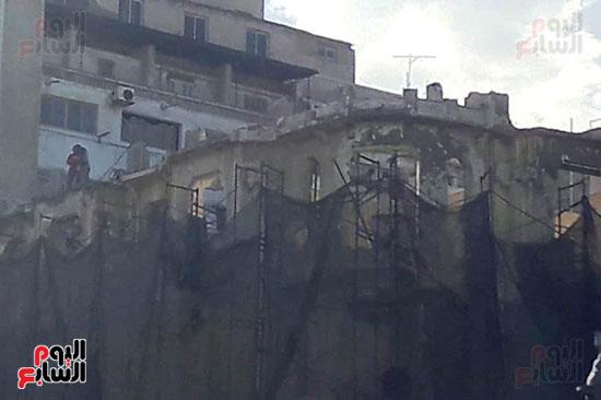 استمرار هدم المبانى التراثية بالإسكندرية (6)