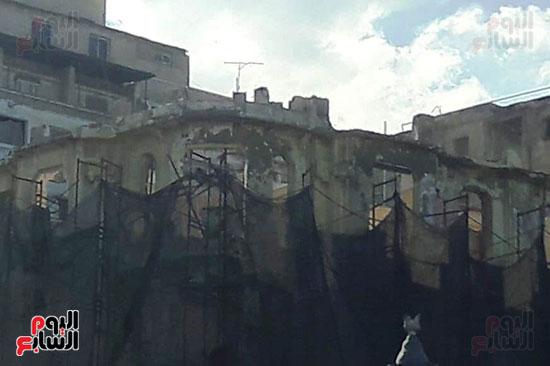 استمرار هدم المبانى التراثية بالإسكندرية (8)