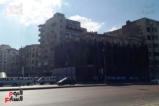 استمرار هدم المبانى التراثية بالإسكندرية (15)