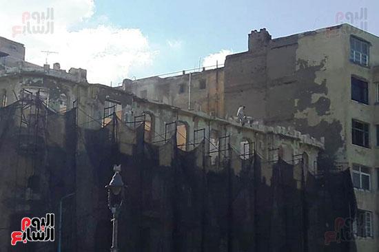 استمرار هدم المبانى التراثية بالإسكندرية (11)