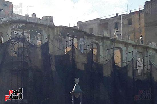 استمرار هدم المبانى التراثية بالإسكندرية (7)