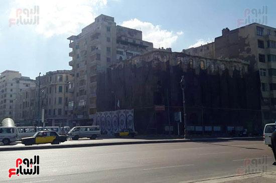 استمرار هدم المبانى التراثية بالإسكندرية (16)