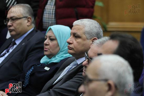 طارق شوقى وزير التعليم  وهالة زايد وزيرة الصحه (4)