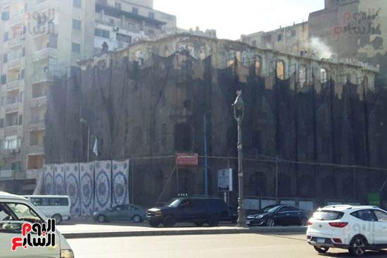استمرار هدم المبانى التراثية بالإسكندرية (4)