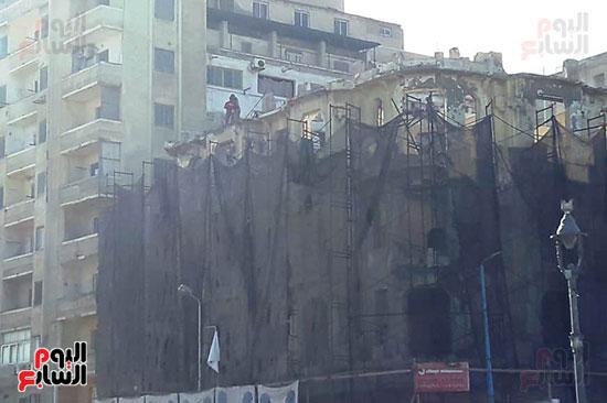 استمرار هدم المبانى التراثية بالإسكندرية (10)