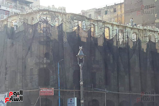 استمرار هدم المبانى التراثية بالإسكندرية (12)